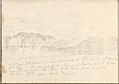 Landscape with Umbrella Pines and Distant Mountain (Smaller Italian Sketchbook, leaf 41 recto) MET DP269449.jpg