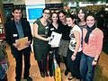 Landshuter Jugendbuchpreis Auserlesen 2010 Frankfurter Buchmesse Isabel Abedi.jpg
