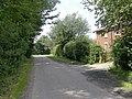 Lane leading from Ulceby village to the busy A1028 - geograph.org.uk - 482891.jpg