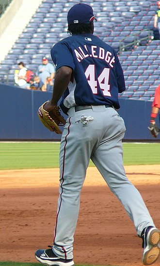 Lastings Milledge - Milledge with the Nationals in 2008.
