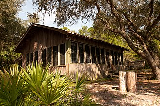 National Register of Historic Places listings in Bay County, Florida - Image: Latimer Cabin built by Sid Latimer