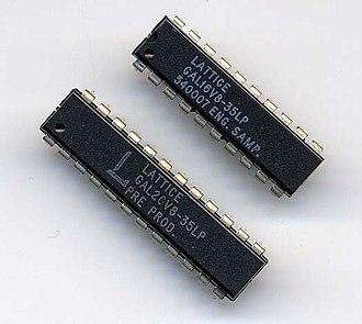 Programmable logic device - Lattice GAL 16V8 and 20V8