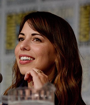 Laura Bailey (voice actress) - Bailey at the 2016 Comic-Con International