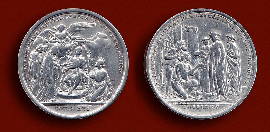 Silver Stock Chart History: Le Couronnement de Louis XVI 1775 Silver Medallion.jpg ,Chart