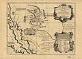 Le Nouveau Mexique appele aussi nouvelle Grenade et Marata, avec partie de Californie. LOC 2002624042.jpg