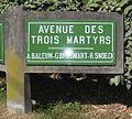 Le Touquet - Plaque avenue des trois martyrs.jpg