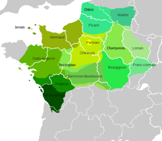 one of the two historically important Romance language groups in France, the other being the Oc languages (Occitan)
