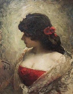 Leon Wyczółkowski - Portret kobiety