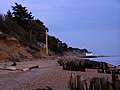 Lepe shoreline at dusk - geograph.org.uk - 146963.jpg