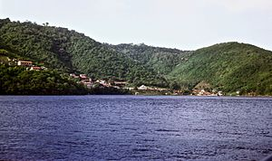 Chacachacare - Image: Leper colony, Chacachacare, Trinidad. 1967