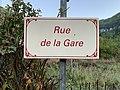 Les Hôpitaux (La Burbanche) - panneau de la rue de la Gare.jpg