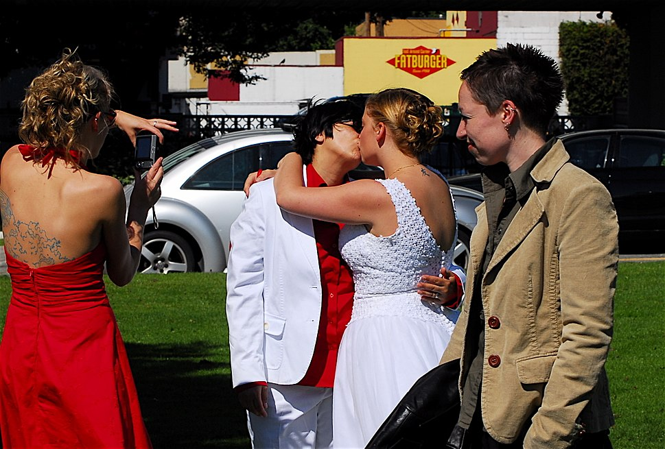Lesbian Wedding 3