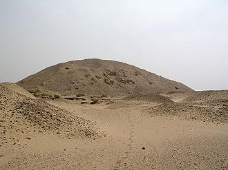 Pyramid of Senusret I - The Pyramid of Senusret I.