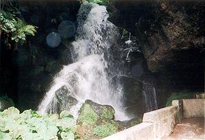 Kirnitzschtal - Image: Lichtenhainer Wasserfall watherfall 002