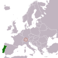 Liechtenstein Portugal Locator.png