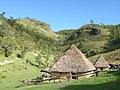 Life in the clouds. traditional huts near Hatu Builico, Ainaro, Timor-Leste.jpg