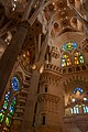 Lights in the Sagrada Familia.jpg