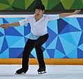 Lillehammer 2016 - Figure Skating Pairs Short Program - Ying Zhao and Zhong Xie (cropped) - Zhong Xie.jpg