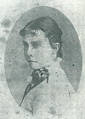 Lily Poulett-Harris - Photograph of Miss Lily Poulett-Harris, founding mother of women's cricket in Australia.