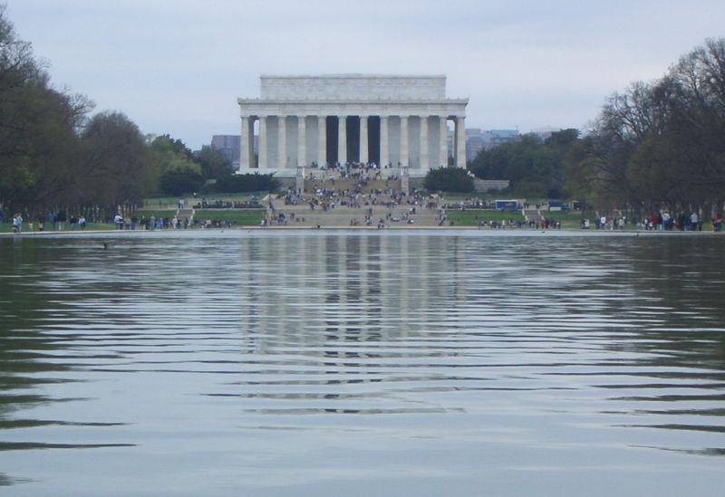 File:Lincoln memorial reflecting pool.jpg