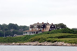 Fishers Island, New York - Linderman House