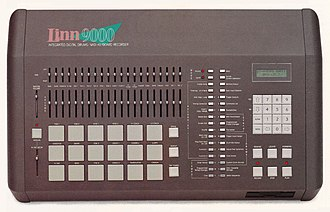 Linn 9000 - Linn 9000 integrated digital drum machine and MIDI keyboard recorder.