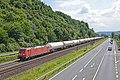 Linz Am Rhein DBC 185 354 met gasketelwagens richting Bonn (27712333093).jpg