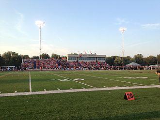 Liston Stadium - Field level view