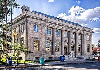 Park County, Montana - Image: Livingston Post Office