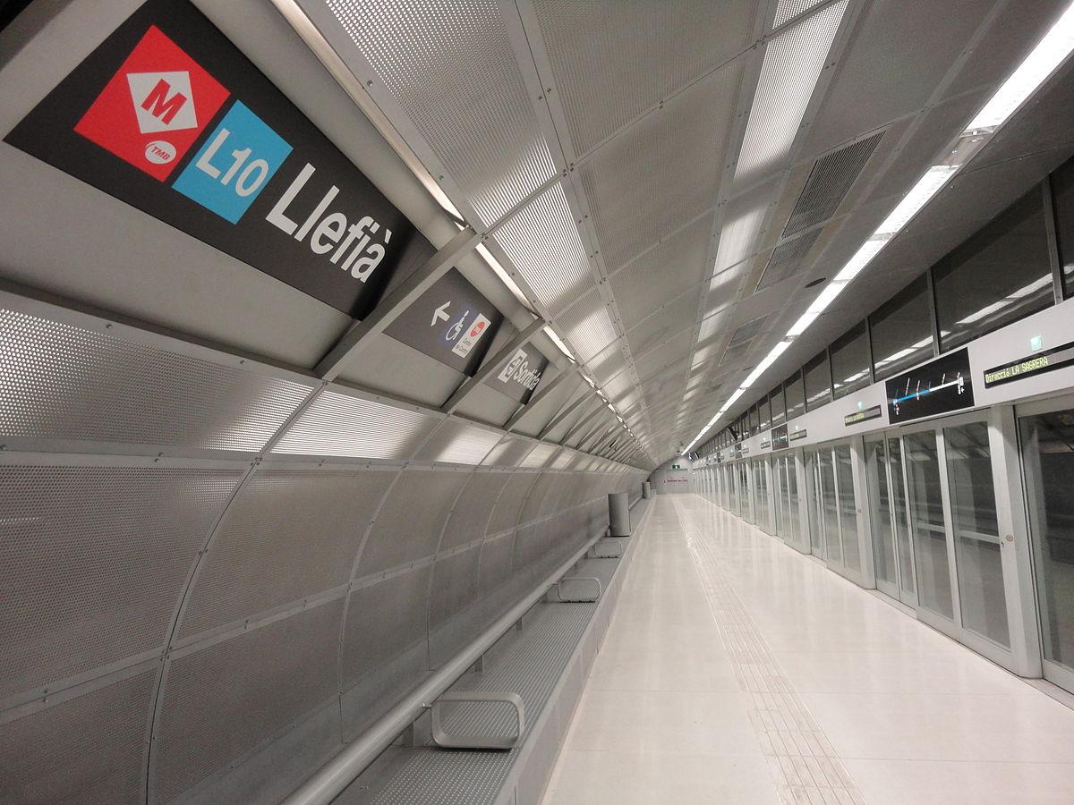 L nea 10 del metro de barcelona wikipedia la for Linea barcelona