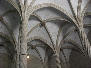 Guillem Sagrera - Vaults of the Llotja dels Mercaders, Palma.