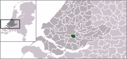 Location of Barendrecht