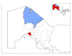 Location of Qanliko'l District in Qoraqalpog'iston.png
