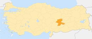 İlin Türkiyedeki Konumu