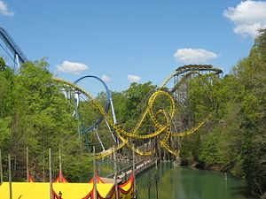 Loch Ness Monster , montagnes russes à Busch G...