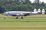 Lockheed L.1049F Super Constellation 'HB-RSC' (27971696246).jpg