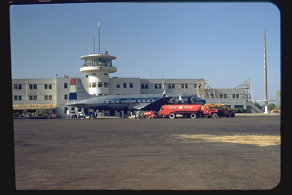 Lod Airport 1950