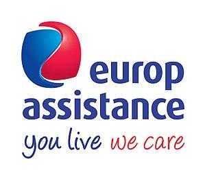 Europ Assistance - Image: Logo Europ Assistance You live we care