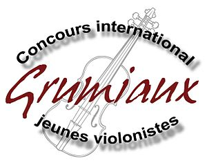 Arthur Grumiaux - Logo of the competition
