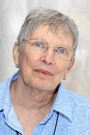 Lois Lowry - Lowry at the 2016 Texas Book Festival