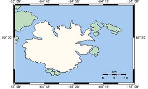 Loks Land Island - A closer view of the island