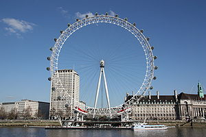 London Eye - Image: London Eye 2009