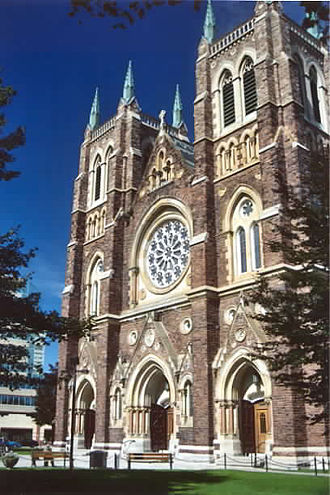 London, Ontario - St. Peter's Cathedral Basilica, seat of the Roman Catholic Diocese of London