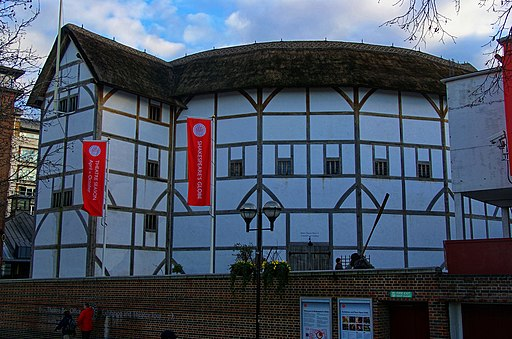 London - Shakespeare's Globe Theatre Replica 1997