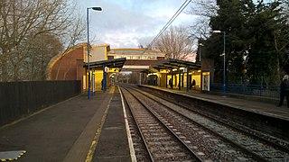 Longbenton Metro station Tyne and Wear Metro station in North Tyneside