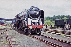 Bordon and Longmoor Military Camps - Artist David Shepherd's BR Standard Class 9F No.92203 Black Prince at Longmoor Military Railway, June 1968