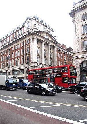 Sackville Street, London - The southern end of Sackville Street where it connects with Piccadilly.