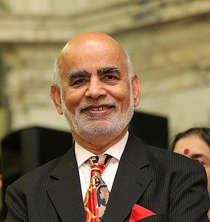 Diljit Rana, Baron Rana - Lord Rana at the Horasis Global India Business Meeting in 2013