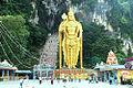 Lord Murugar statue in batu cave temple.jpg