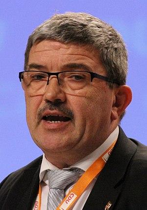 Lorenz Caffier - Image: Lorenz Caffier CDU Parteitag 2014 by Olaf Kosinsky 9